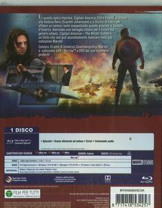 Captain America. The Winter Soldier di Anthony Russo,Joe Russo - Blu-ray - 2