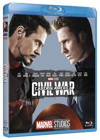 Cover Dvd Captain America. Civil War. Edizione 10° anniversario Marvel Studios (Blu-ray)