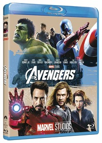 Cover Dvd The Avengers. Edizione 10° anniversario Marvel Studios (Blu-ray)