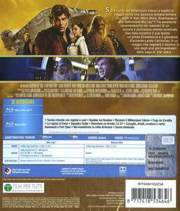 Solo. A Star Wars Story (Blu-ray) di Ron Howard - Blu-ray - 2