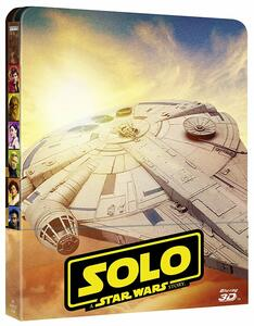 Solo. A Star Wars Story. Con Steelbook (2 Blu-ray + Blu-ray 3D) di Ron Howard - Blu-ray 3D