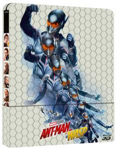 Ant-Man and the Wasp. Con Steelbook (Blu-ray + Blu-ray 3D) di Peyton Reed - Blu-ray + Blu-ray 3D