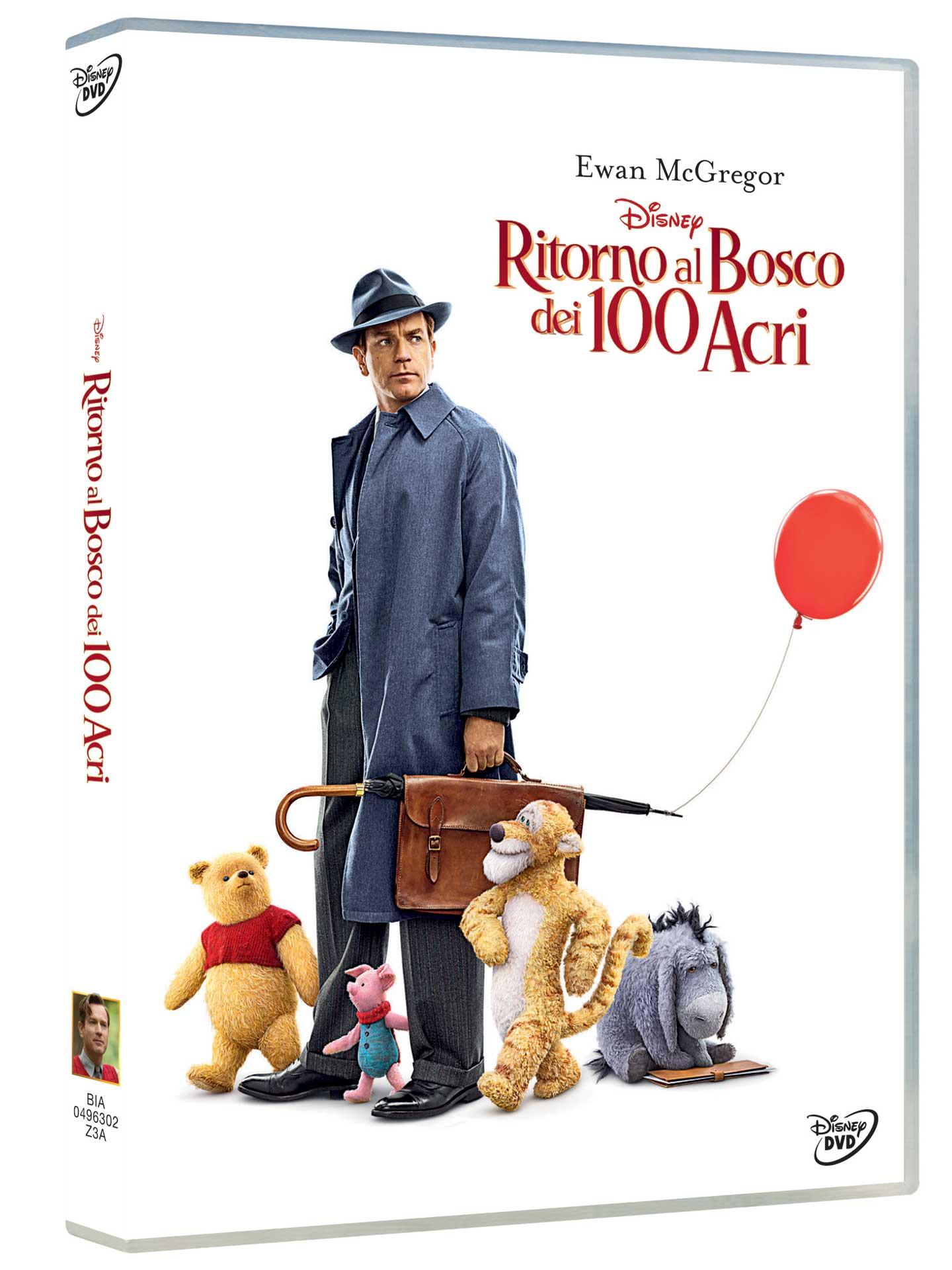Cover Dvd DVD Ritorno al Bosco dei 100 Acri