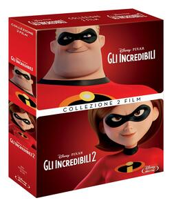 Film Gli Incredibili Collection. Cofanetto (2 Blu-ray) Brad Bird