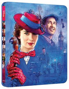 Il ritorno di Mary Poppins. Con Steelbook (Blu-ray) di Rob Marshall - Blu-ray