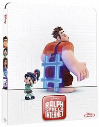 Cover Dvd Ralph spacca Internet. Con Steelbook (Blu-ray)