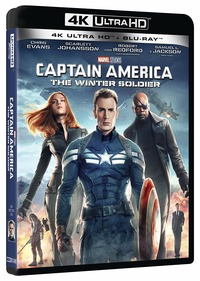 Cover Dvd Captain America. The Winter Soldier (Blu-ray + Blu-ray Ultra HD 4K)