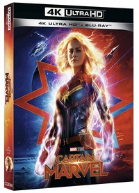 Cover Dvd Captain Marvel (Blu-ray + Blu-ray 4K Ultra HD)