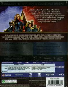 Captain Marvel (Blu-ray + Blu-ray 4K Ultra HD) di Anna Boden,Ryan Fleck - Blu-ray + Blu-ray Ultra HD 4K - 2