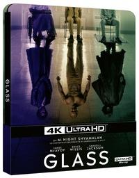 Cover Dvd Glass. Con Steelbook (Blu-ray + Blu-ray 4K Ultra HD)