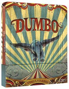 Dumbo. Con Steelbook (Blu-ray) di Tim Burton - Blu-ray