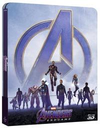 Cover Dvd Avengers. Endgame. Con Steelbook (Blu-ray + Blu-ray 3D)
