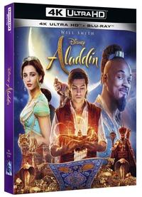 Cover Dvd Aladdin (Blu-ray + Blu-ray 4K Ultra HD)
