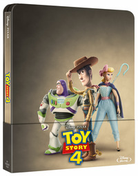 Cover Dvd Toy Story 4 . Con Steelbook (Blu-ray)