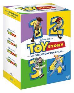 Toy Story. La collezione dei 4 film (4 DVD) di John Lasseter,Lee Unkrich,Josh Cooley,Ash Brannon