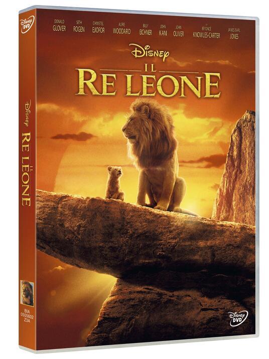 Il Re Leone Live Action (DVD) di Jon Favreau - DVD