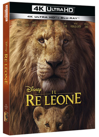 Cover Dvd Il Re Leone Live Action (Blu-ray + Blu-ray Ultra HD 4K)