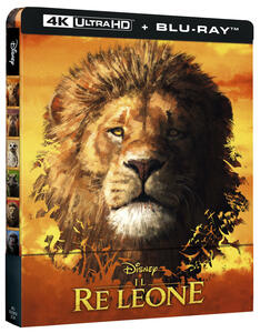Il Re Leone Live Action. Con Steelbook (Blu-ray + Blu-ray Ultra HD 4K) di Jon Favreau - Blu-ray + Blu-ray Ultra HD 4K