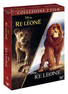 Il Re Leone. Cofanetto con versione animata e Live Action (2 DVD) di Jon Favreau,Roger Allers,Rob Minkoff