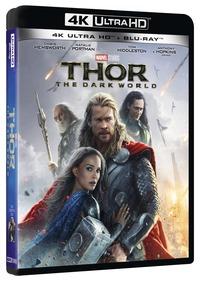 Cover Dvd Thor. The Dark World. Edizione 10° anniversario (Blu-ray Ultra HD 4K)