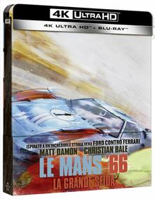 Le Mans 66. Ford vs Ferrari. Con Steelbook (Blu-ray + Blu-ray Ultra HD 4K) di James Mangold - Blu-ray + Blu-ray Ultra HD 4K