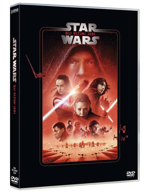 Star Wars. Episodio VIII. Gli ultimi Jedi (DVD) di Rian Johnson - DVD - 2