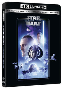 Star Wars. Episodio I. La minaccia fantasma (Blu-ray Ultra HD 4K) di George Lucas - Blu-ray Ultra HD 4K