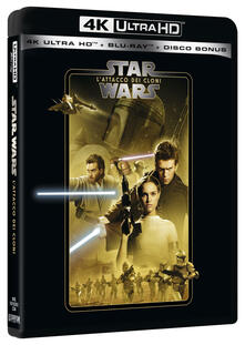 Star Wars. Episodio II. L'attacco dei cloni (Blu-ray Ultra HD 4K) di George Lucas - Blu-ray Ultra HD 4K