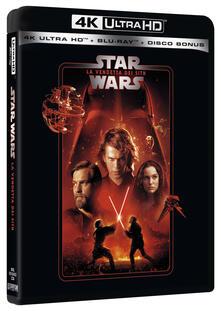 Star Wars. Episodio III. La vendetta dei Sith (Blu-ray Ultra HD 4K) di George Lucas - Blu-ray Ultra HD 4K