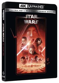 Cover Dvd Star Wars. Episodio VIII. Gli ultimi Jedi (Blu-ray Ultra HD 4K)