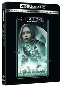 Cover Dvd Rogue One. A Star Wars Story (Blu-ray Ultra HD 4K)