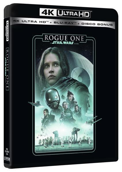 Rogue One. A Star Wars Story (Blu-ray Ultra HD 4K) di Gareth Edwards - Blu-ray Ultra HD 4K
