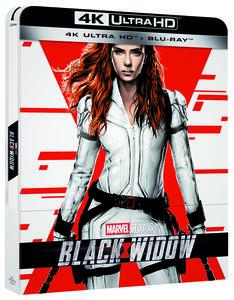 Film Black Widow. Con Steelbook (Blu-ray + Blu-ray Ultra HD 4K) Cate Shortland