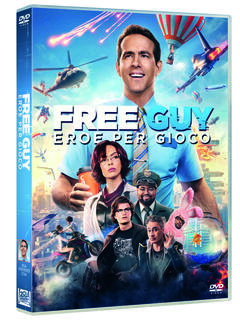 Film Free Guy. Eroe per gioco (DVD) Shawn Levy