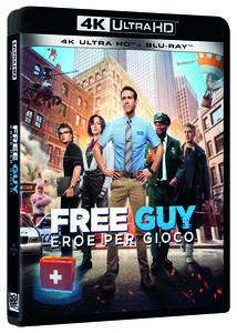 Film Free Guy. Eroe per gioco (Blu-ray + Blu-ray Ultra HD 4K) Shawn Levy
