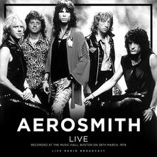 Best of Live at the Music Hall Boston 1978 - Vinile LP di Aerosmith