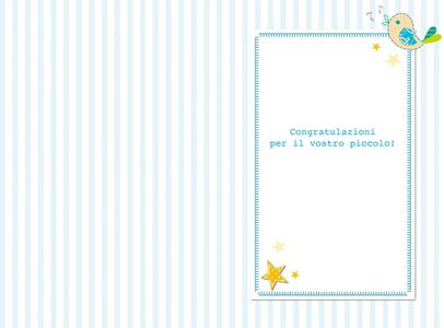 Biglietto baby Boy Stitched occasioni speciali - 2
