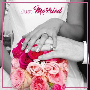 Biglietto matrimonio 3D A Splash of Colour. Bouquet