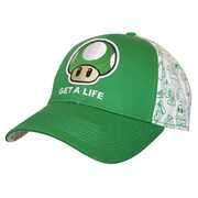 Idee regalo Cappellino Nintendo. Get a Life Bioworld