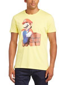 T-Shirt Nintendo. Mario Block Yellow