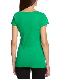 T-Shirt Mario Fungo Verde (S-Girl) - 4