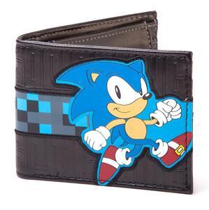 Portafoglio Sega. Running Sonic