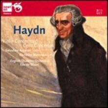 Concerti per violino - Concerti per violoncello - CD Audio di Franz Joseph Haydn,Salvatore Accardo,English Chamber Orchestra,Edo de Waart,Christine Walevska,Bruno Canino