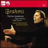 CD Sinfonie complete - Ouverture Tragica - Variazioni Haydn Johannes Brahms Carlo Maria Giulini Wiener Philharmoniker