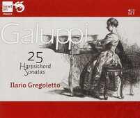 CD 25 Sonate per clavicembalo Baldassarre Galuppi Ilario Gregoletto