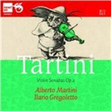 Sonate per violino - CD Audio di Giuseppe Tartini