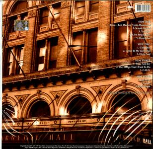 Live At Carnegie Hall 180 Gr Stevie Ray Vaughan