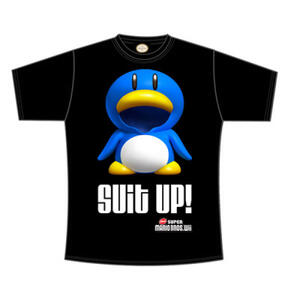 T-Shirt Nintendo. Suit Up