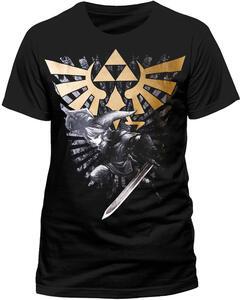 T-Shirt uomo Nintendo. Zelda & Link