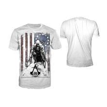 T-Shirt Assassin's Creed III. Burned Flag